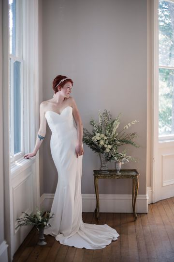 Enzoani Gown. C Young Photo