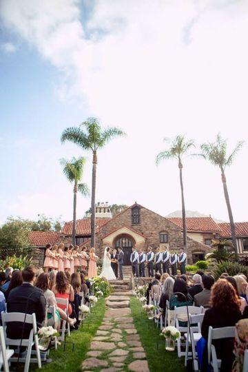 Mt woodson castle venue ramona ca weddingwire for Castle wedding venues california