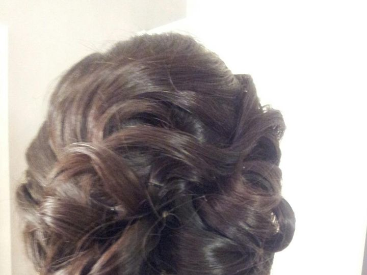 Tmx 1426357652563 Updo 8 Doylestown, Pennsylvania wedding beauty