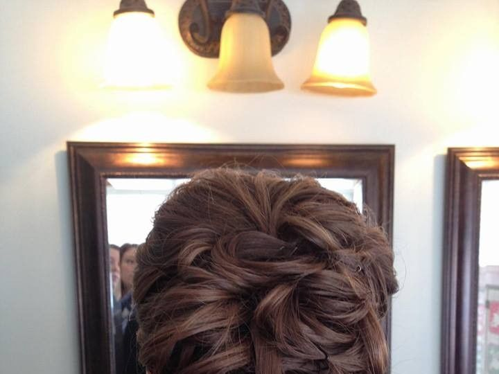 Tmx 1426357659346 Updo Doylestown, Pennsylvania wedding beauty