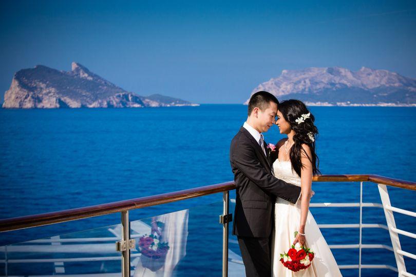 Royal Caribbean Wedding at sea