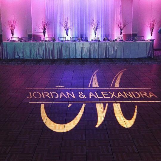Dj/ lighting/photobooth for jordan & alexandra's wedding at boundary oak golf course