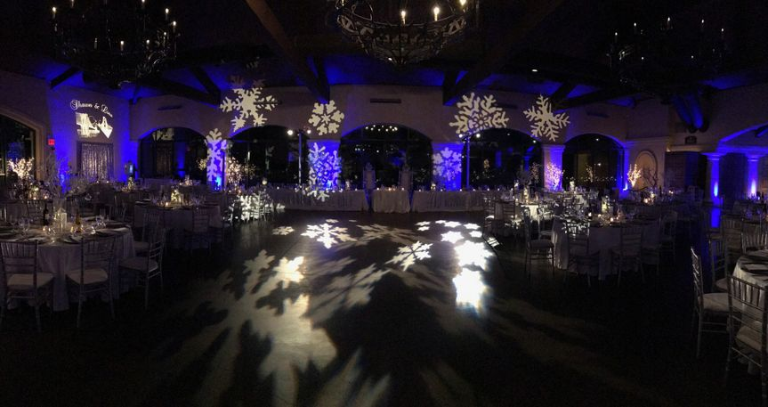 The Bridges Golf Course, San Ramon CA.  Lighting, DJ and photobooth services by Deejaypros