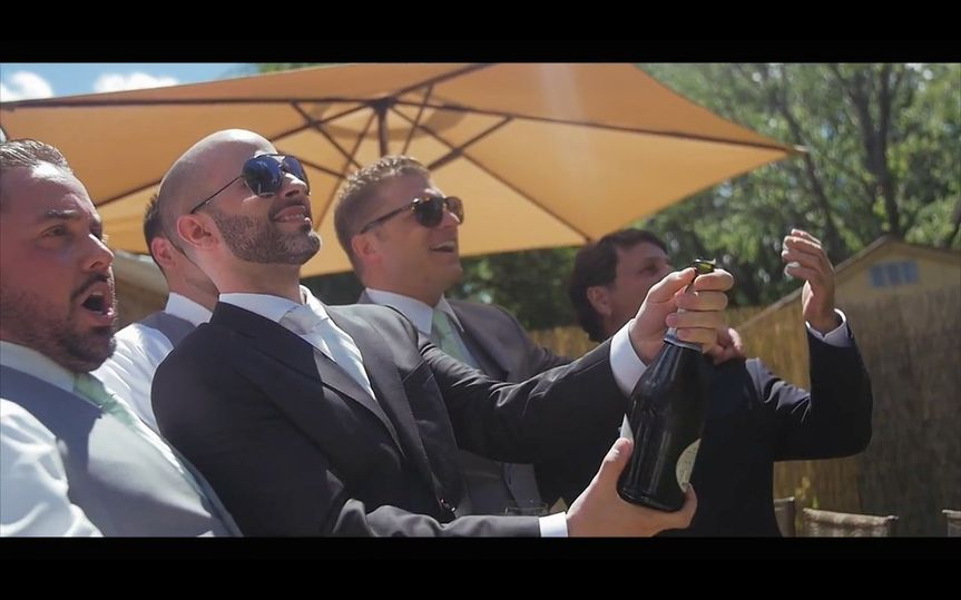 Groom and grooms men - Tre Flix Productions