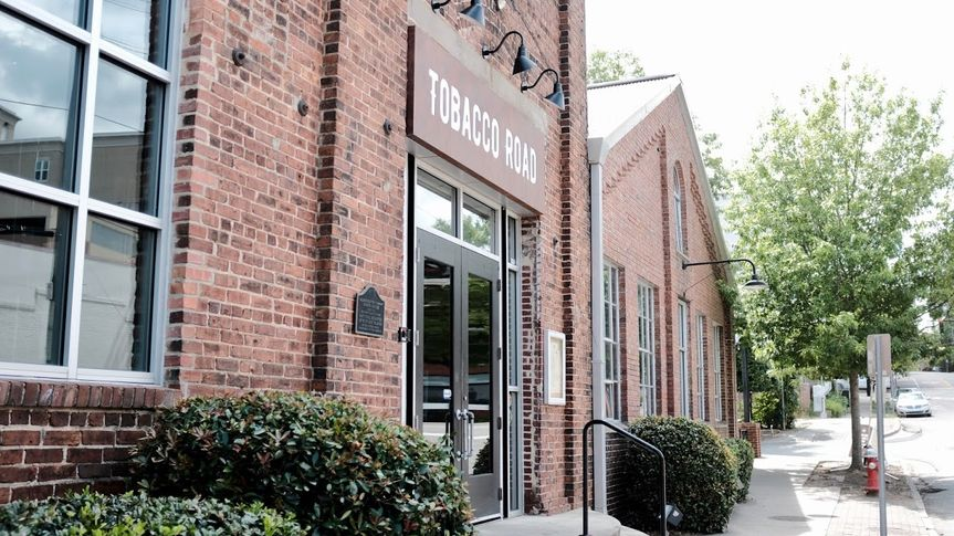 Front of Tobacco Road Brewery