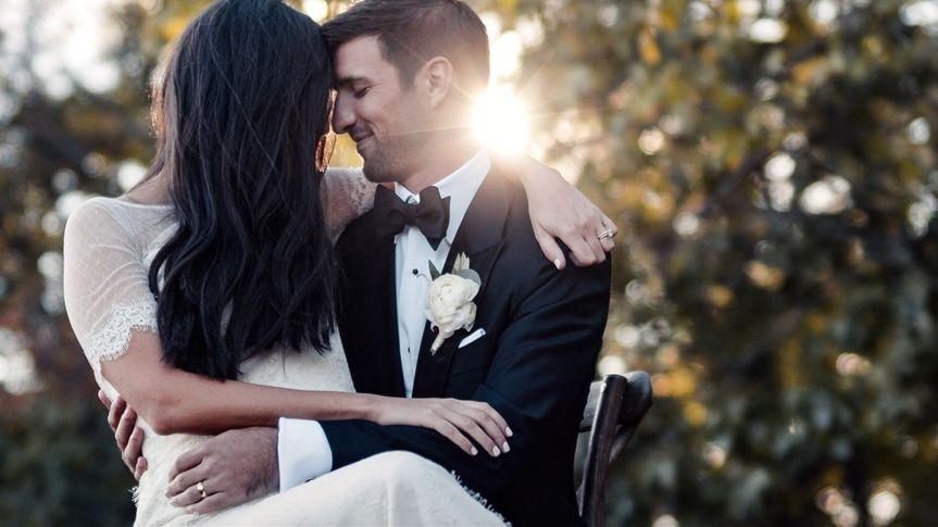 Romance wedding video