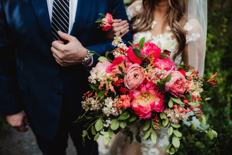 Bridal Bouquet- Peonies