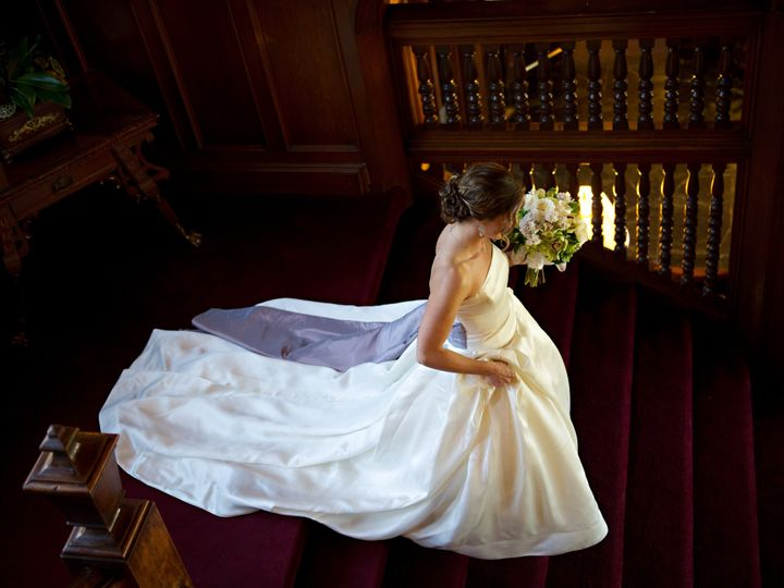 Tmx 1509644614929 Tm Bride Descending Mansion Staircase Lenox, New York wedding venue