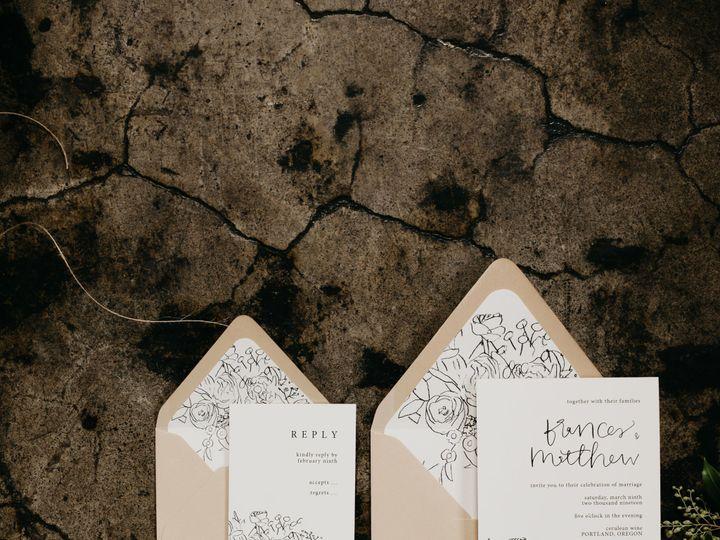 Tmx Laurenmilesphoto Earthyandmutedatceruleanwine 6 51 1032609 Portland, OR wedding invitation