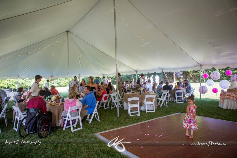 Tent Wedding In Maryland