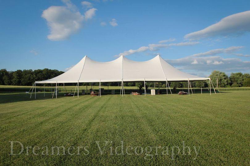 40 x 80 Wedding Tent