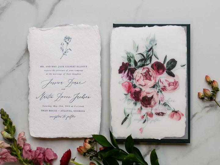 Tmx Peony 1 51 1052609 New Orleans, LA wedding invitation