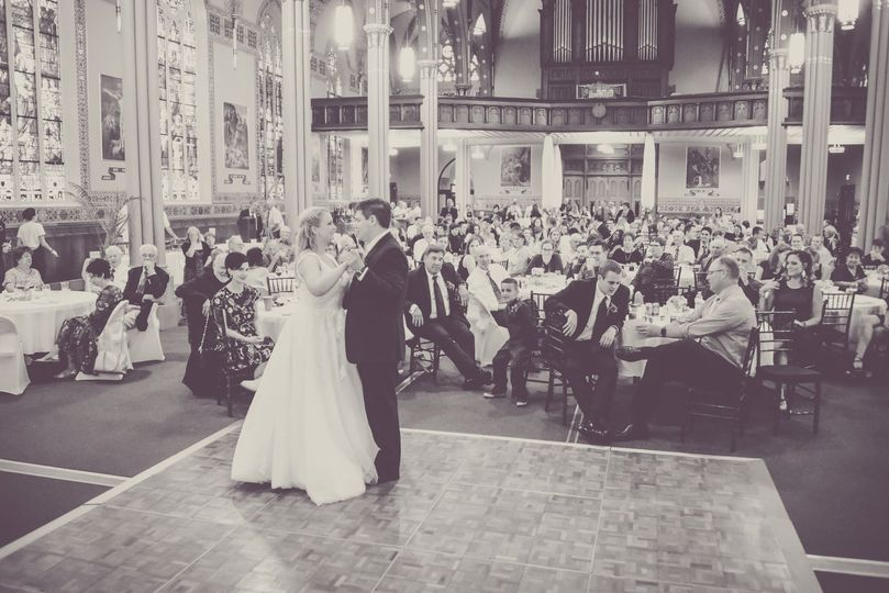 First dance in the Main Hall