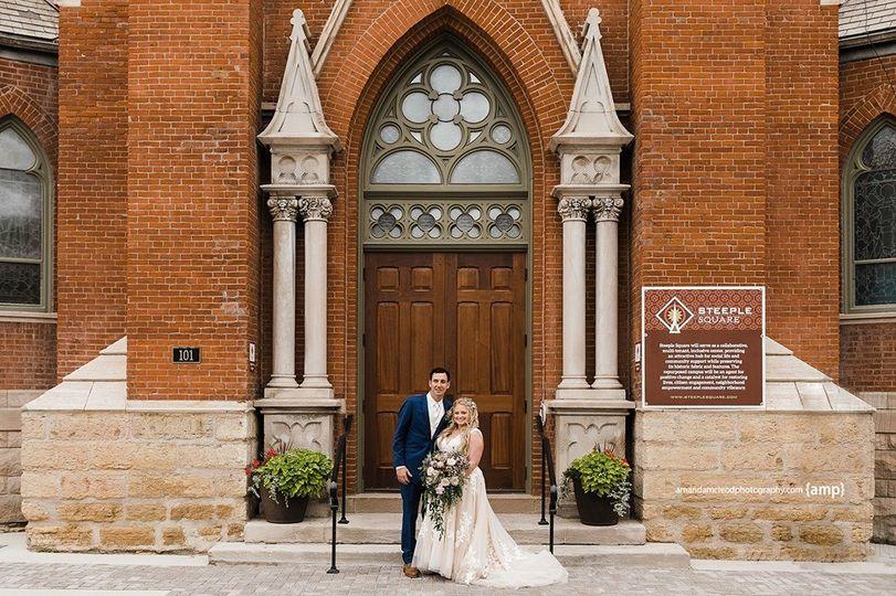 "Mr. & Mrs. said ""I do""!"