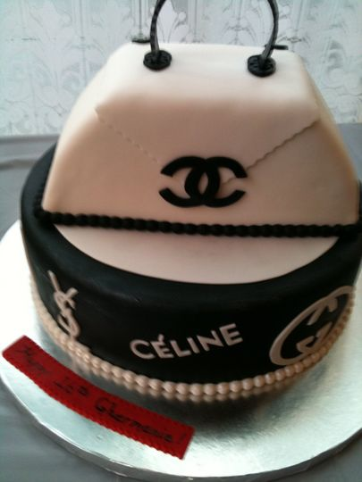 Sweet 16 Couture Cake