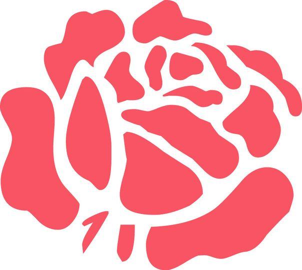 flower rose log