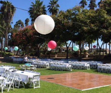 chase palm park wedding