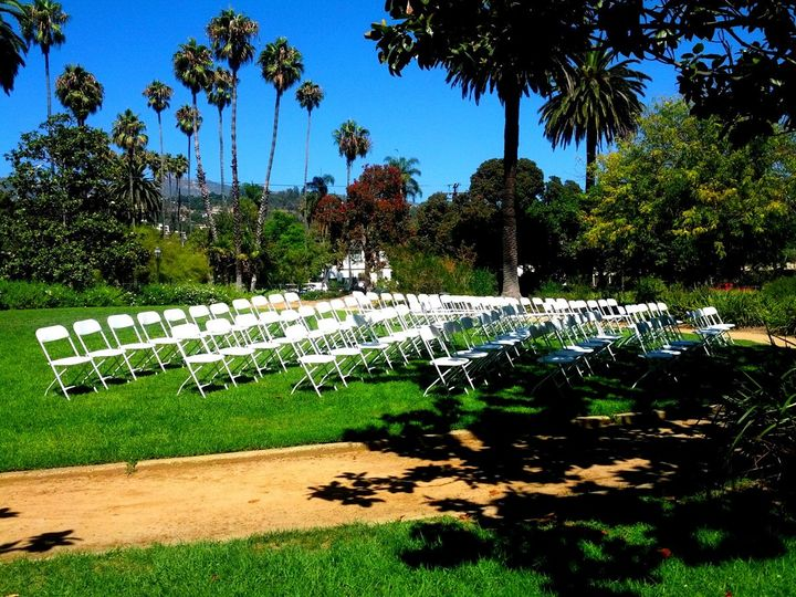 Tmx 1355983460805 ChairsatGardenPark Santa Barbara, CA wedding rental