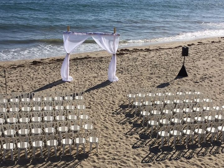 Tmx 1509732532210 Santa Barbara Beach Wedding Copy Santa Barbara, CA wedding rental