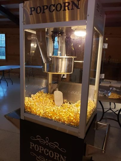 A popcorn machine for your use
