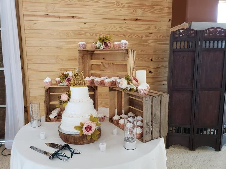 Another pretty cake table