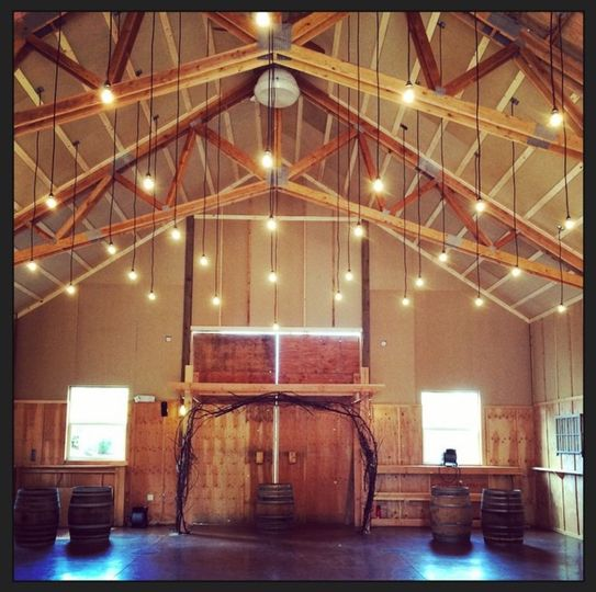Inside the Rustic Red Barn