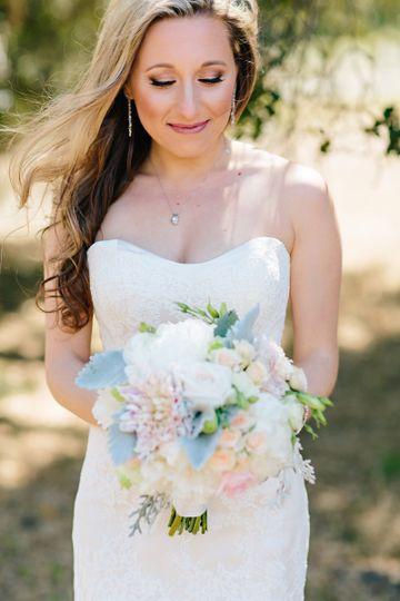 Pretty bride | K Holly Photo