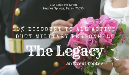 The Legacy an Event Center 1