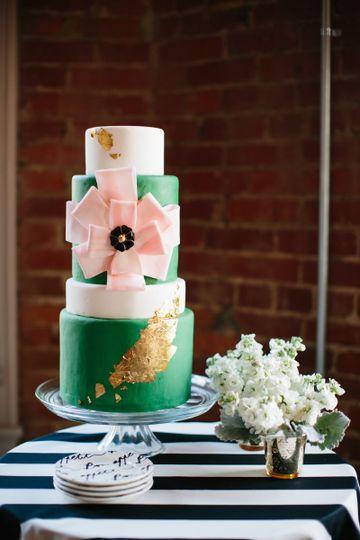 Buttercream Bakeshop Wedding Cake Washington DC WeddingWire