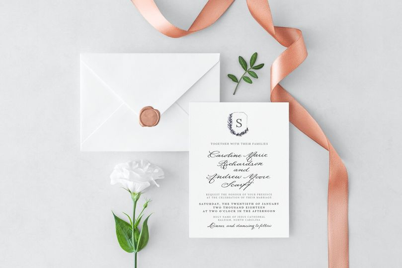 Legacy Invitation suite