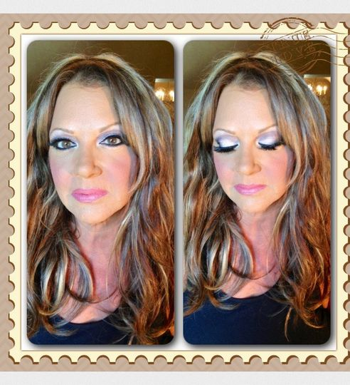 Eyeshadow work