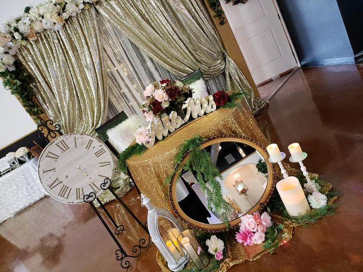 Vintage couples table