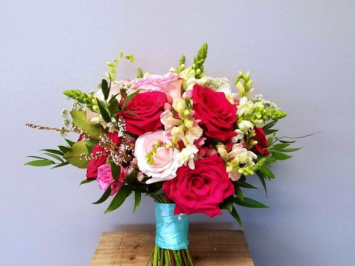 Tmx 1512764152979 Pink Teal Garden 4 Owings Mills, Maryland wedding florist