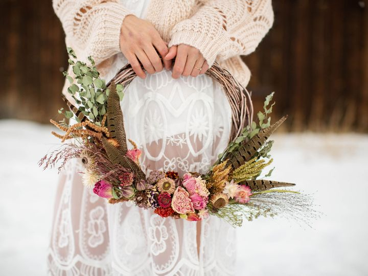 Tmx Missoula Montana Florist Wedding Dried Flower Wreath Hoop Bouquet 51 1049609 Florence, MT wedding florist