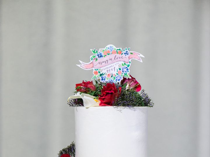 Tmx 1510027229975 Marry Me Cake Web 039 Beaverton wedding cake
