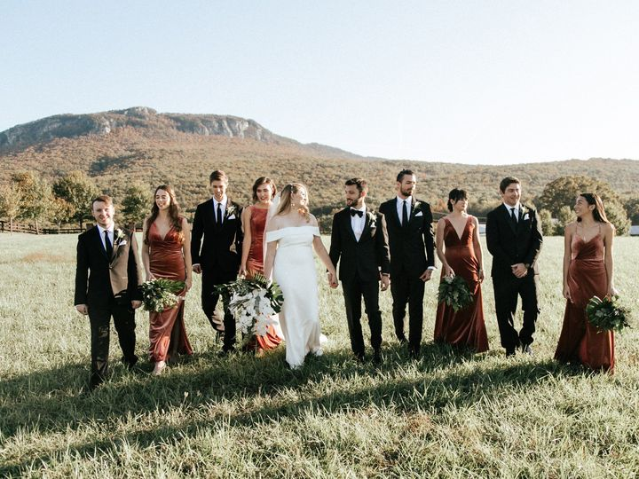 Tmx Field With Bridal Party 51 750709 158221193222211 Westfield, NC wedding venue