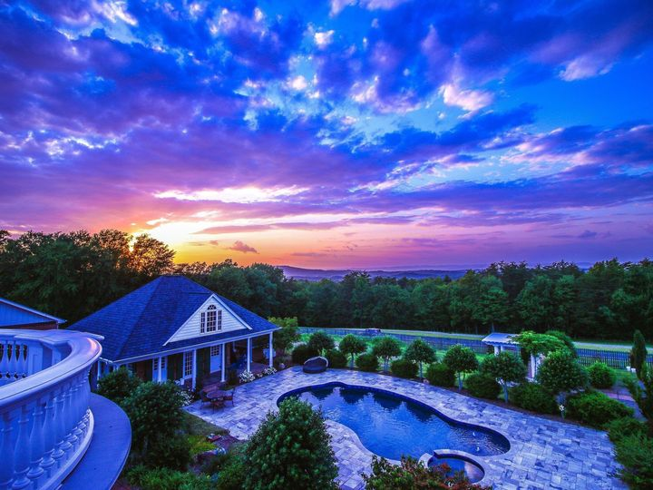 Tmx Sunset From Balcony 51 750709 1564503683 Westfield, NC wedding venue