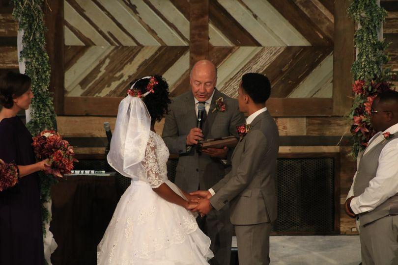 Clean Church Wedding