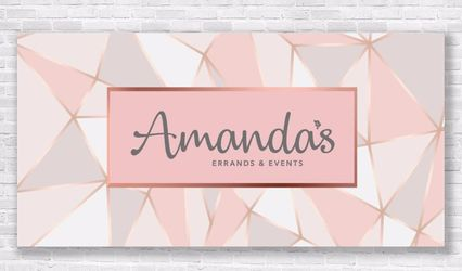 Amanda's Errands and Events 1