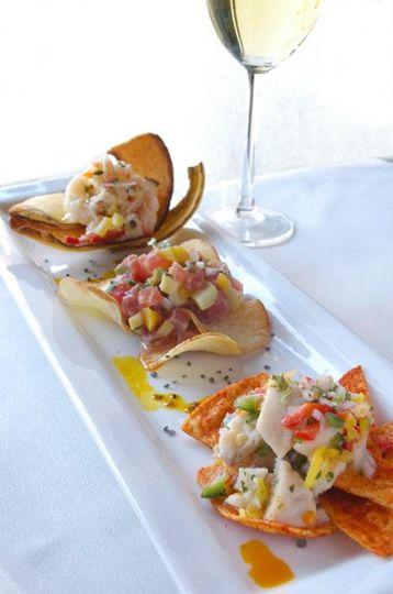 Fresh Fish Ceviche Platter