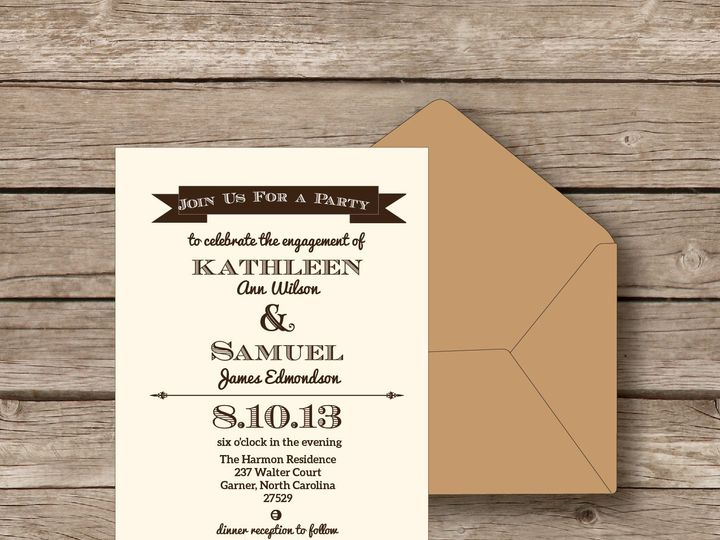 Tmx 1393184280443 Celebration Invit Apex wedding invitation