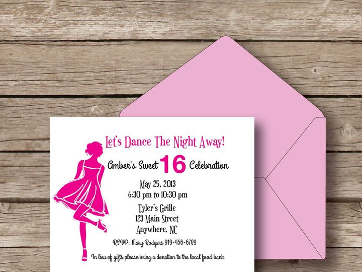 Tmx 1393184298308 Dance The Night Awa Apex wedding invitation
