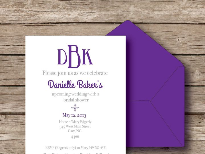 Tmx 1393184307332 Danielle Invit Apex wedding invitation
