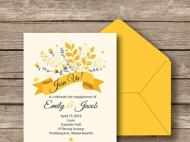 Tmx 1393184316571 Emily Invit Apex wedding invitation