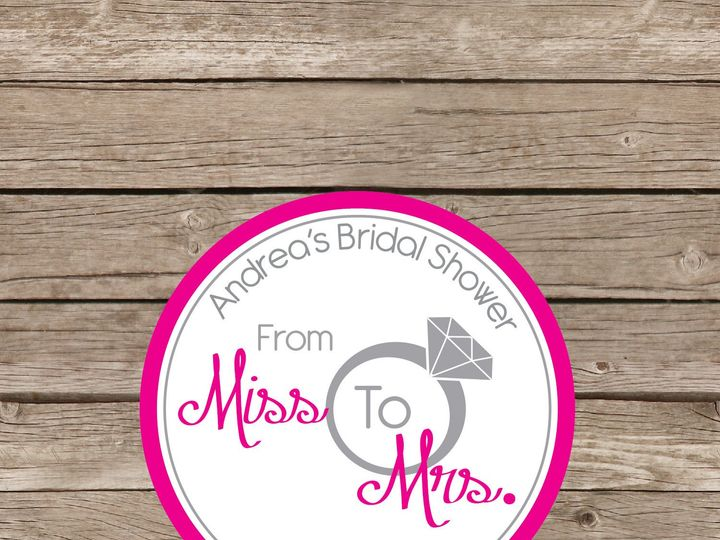 Tmx 1393184384254 Miss To Mrs Stickers Apex wedding invitation