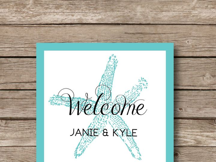 Tmx 1393184467155 Starfish Wedding Sticke Apex wedding invitation