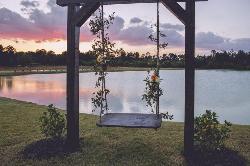 Swing at Pond