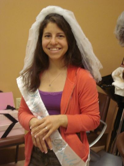 Bride to Be having a Spa Day on her Wedding Day.