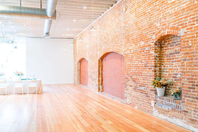 Interior Brick Wall (upstairs)