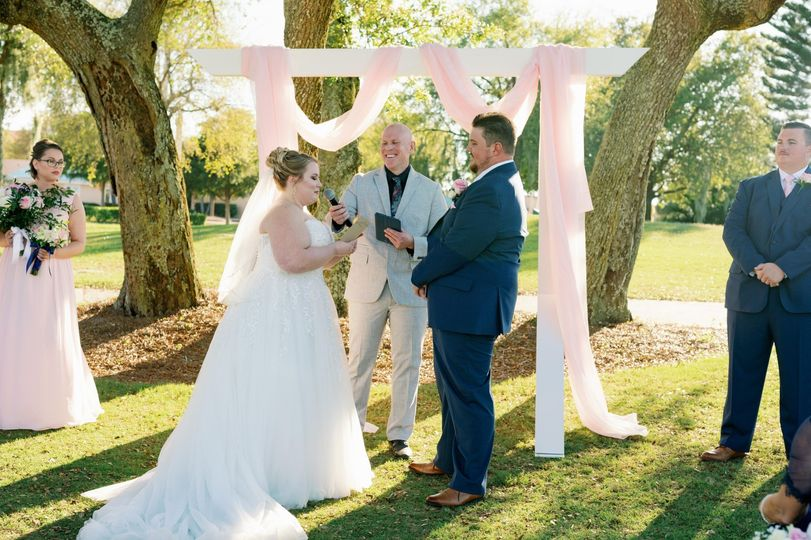 Emily and Ethan marriage cerem